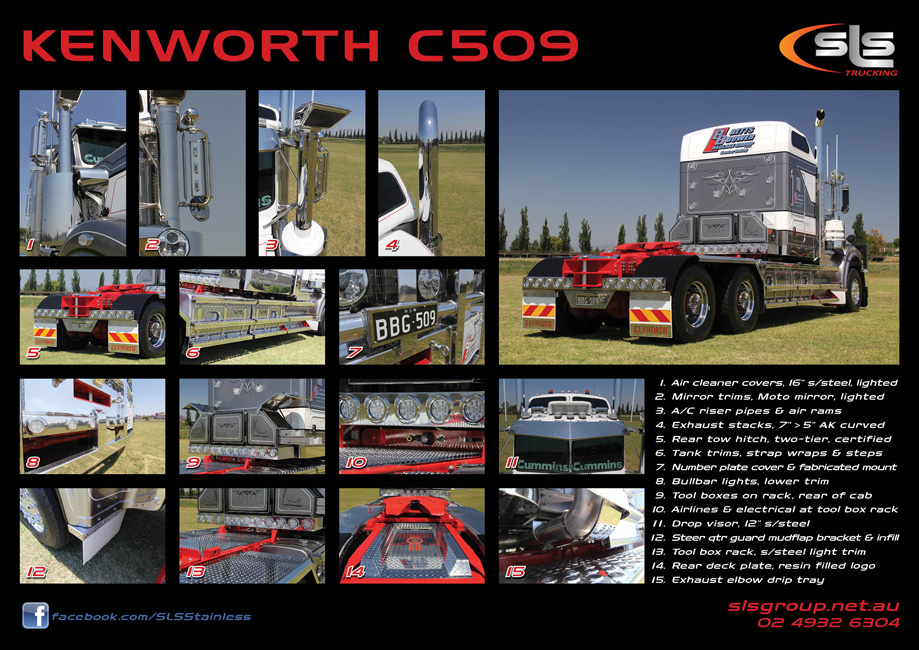 Kenworth C509 Accessories