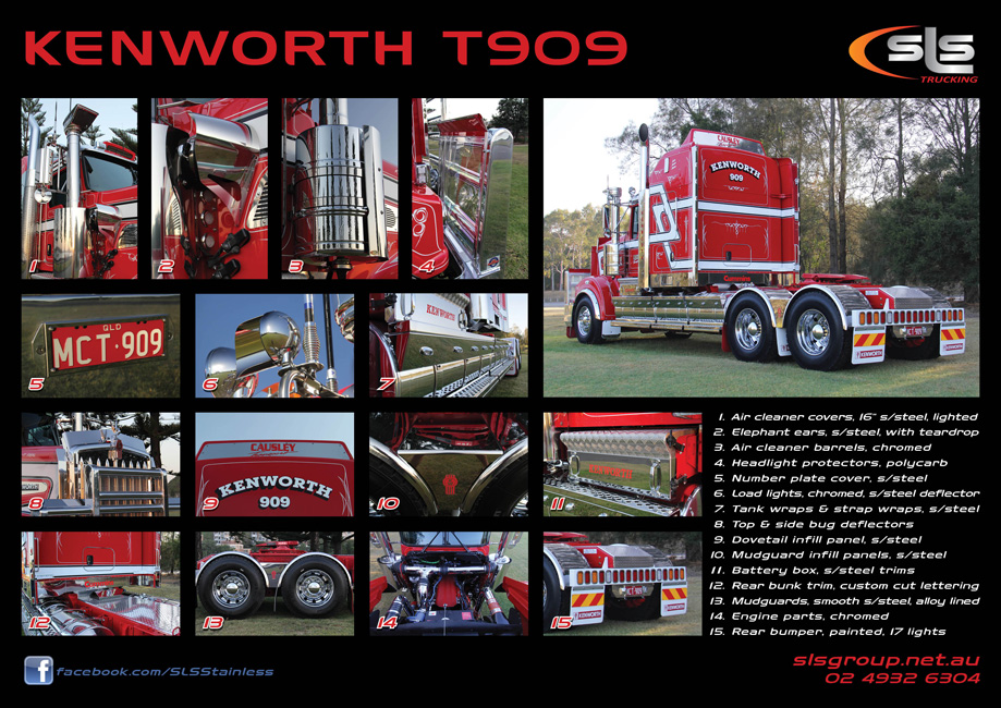 Kenworth T909 Accessories