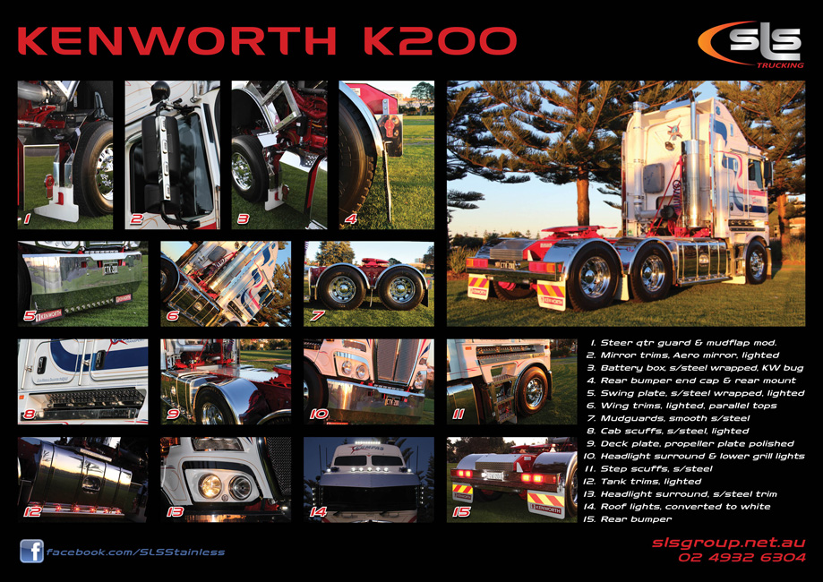 Kenworth K200 Accessories