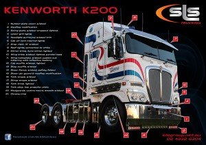 Kenworth K200 Truck Accessories