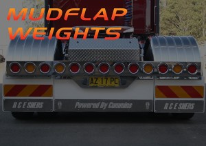 Mudflap Weights