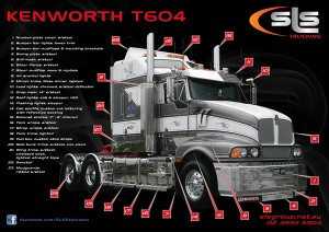Kenworth T604 Accessories