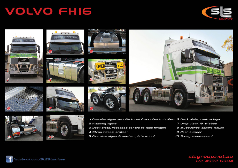 Volvo FH16 Accessories