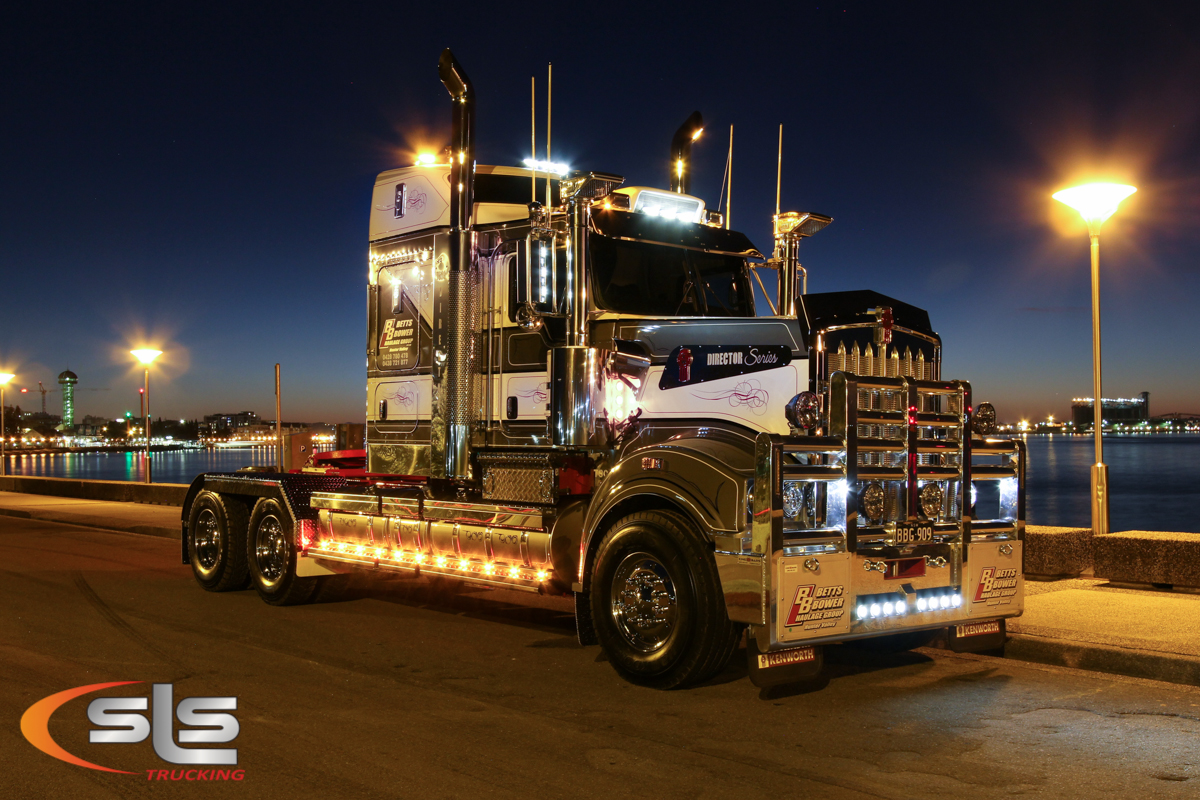 Truck Cab Inside >> Betts Bower T909 Director by SLS Trucking