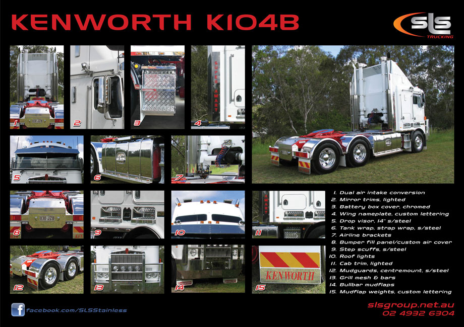 Kenworth K104B Accessories
