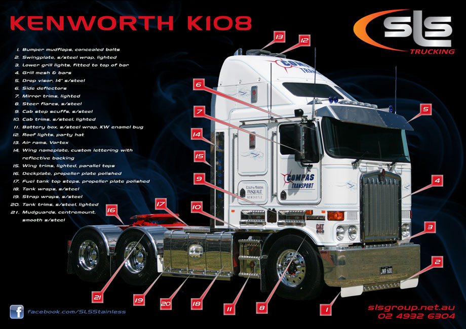 Kenworth Accessories By Sls Trucking