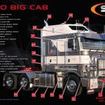 Kenworth K200 Big Cab Accessories