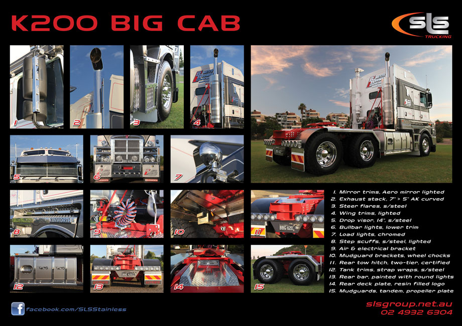 Kenworth K200 Big Cab