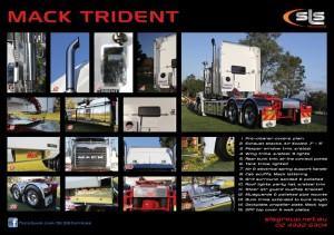 Mack Trident Accessories
