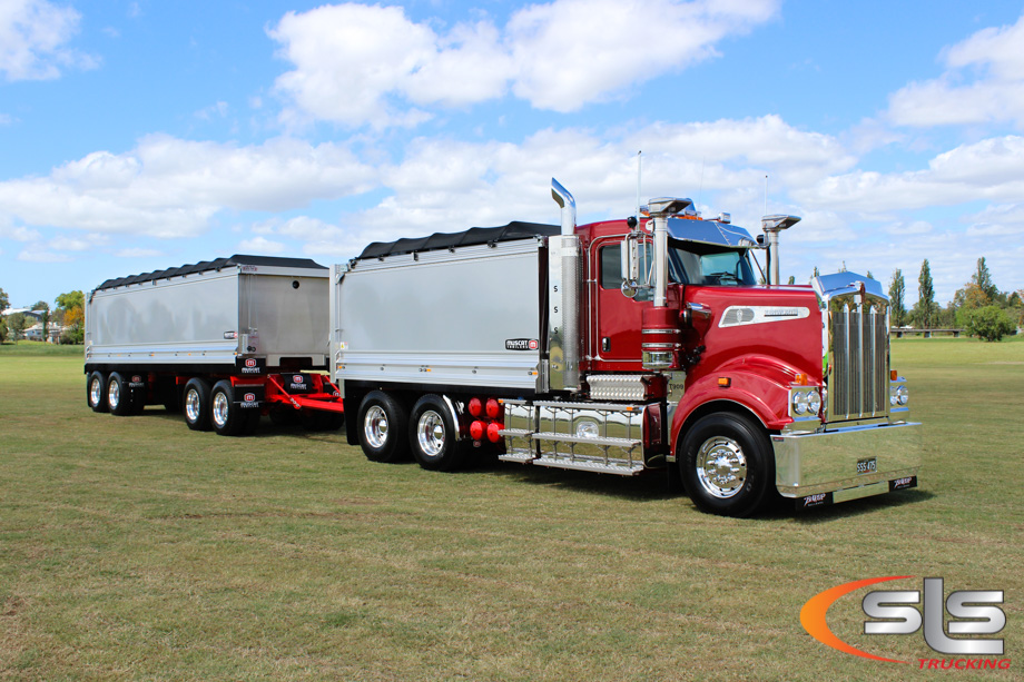 Sss t909 congratulations to singleton stemming services on taking delivery this week of their new kenworth t909 publicscrutiny Images