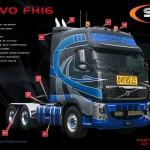 Volvo FH 16 Accessories